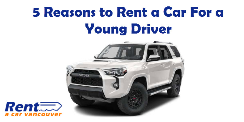 Rent A car for Young Driver