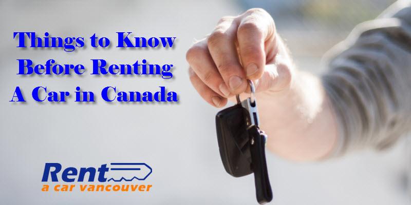 Rent a Car Vancouver